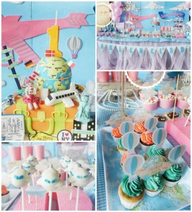 Travel Themed 1st Birthday Party with Lots of REALLY CUTE IDEAS via Kara's Party Ideas | KarasPartyIdeas.com #JoyToTheWorld #Traveling #Party #Ideas #Supplies (1)
