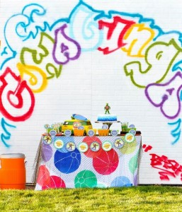 Retro Surfing Ninja Turtle Themed End of Summer Party with Totally Awesome IDEAS via Kara's Party Ideas   KarasPartyIdeas.com #TMNT #Cowabunga #NijaTurtles #PizzaParty #Party #Ideas #Supplies (67)