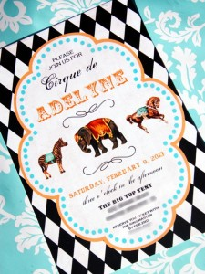 Vintage Parisian Circus Party with SO MANY DARLING IDEAS via Kara's Party Ideas | KarasPartyIdeas #1stBirthday #Party #Ideas #Supplies (2)