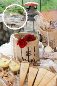 Outdoor Vintage Wedding with Lots of REALLY CUTE IDEAS via Kara's Party Ideas | Kara'sPartyIdeas.com #Rustic #CountryWedding #DessertTable #PartyIdeas #Supplies (12)