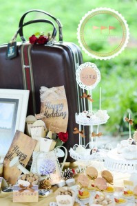 Outdoor Vintage Wedding with Lots of REALLY CUTE IDEAS via Kara's Party Ideas | Kara'sPartyIdeas.com #Rustic #CountryWedding #DessertTable #PartyIdeas #Supplies (9)