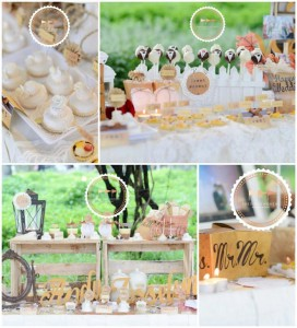 Outdoor Vintage Wedding with Lots of REALLY CUTE IDEAS via Kara's Party Ideas | Kara'sPartyIdeas.com #Rustic #CountryWedding #DessertTable #PartyIdeas #Supplies (1)