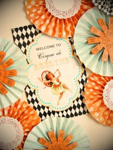 Vintage Parisian Circus Party with SO MANY DARLING IDEAS via Kara's Party Ideas | KarasPartyIdeas #1stBirthday #Party #Ideas #Supplies (10)