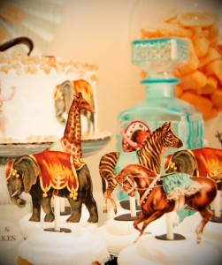Vintage Parisian Circus Party with SO MANY DARLING IDEAS via Kara's Party Ideas | KarasPartyIdeas #1stBirthday #Party #Ideas #Supplies (8)