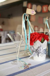 Vintage Airplane Baby Shower Full of Really Cute Ideas via Kara's Party Ideas | KarasPartyIdeas.com #Airplane #Aviator #Party #Ideas #Supplies (12)