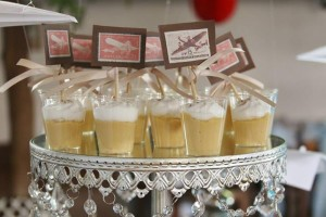 Vintage Airplane Baby Shower Full of Really Cute Ideas via Kara's Party Ideas | KarasPartyIdeas.com #Airplane #Aviator #Party #Ideas #Supplies (5)