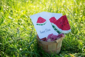 Watermelon Picnic Party with REALLY CUTE Ideas via Kara's Party Ideas   Kara'sPartyIdeas.com #Summer #Picnic #Party #Ideas #Supplies (9)