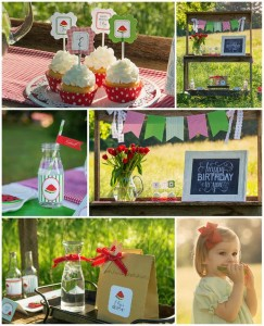 Watermelon Picnic Party with REALLY CUTE Ideas via Kara's Party Ideas | Kara'sPartyIdeas.com #Summer #Picnic #Party #Ideas #Supplies (1)