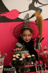 Witch Themed 9th Birthday Party with So Many Darling Ideas via Kara's Party Ideas | KarasPartyIdeas.com #WitchesNightOut #Halloween #Party #Ideas #Supplies (12)
