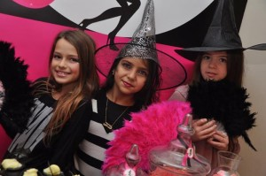 Witch Themed 9th Birthday Party with So Many Darling Ideas via Kara's Party Ideas | KarasPartyIdeas.com #WitchesNightOut #Halloween #Party #Ideas #Supplies (5)