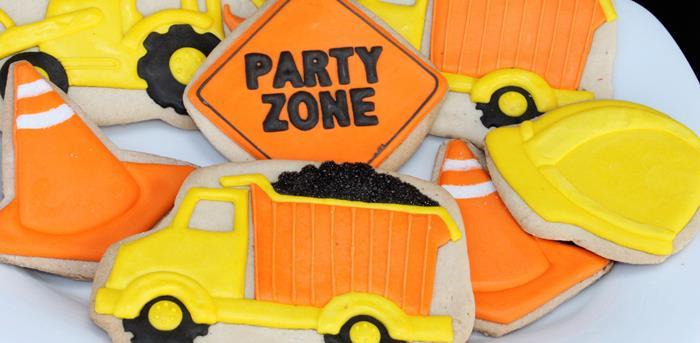 Karas Party Ideas Construction Planning Supplies Cake Decorations
