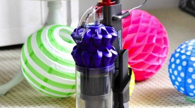 Dyson Vacuums THE best vacuum! Voted number one by Kara Allen of Kara's Party Ideas KarasPartyIdeas.com