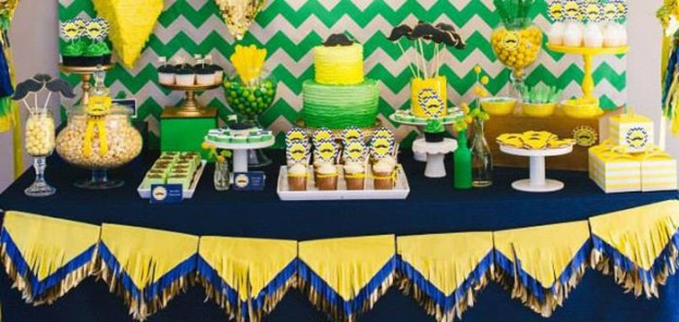 Neon Geo Stache Bash Baby Shower with REALLY CUTE IDEAS via Kara's Party Ideas | KarasPartyIdeas.com #MustacheParty #Party #Ideas #Supplies (2)
