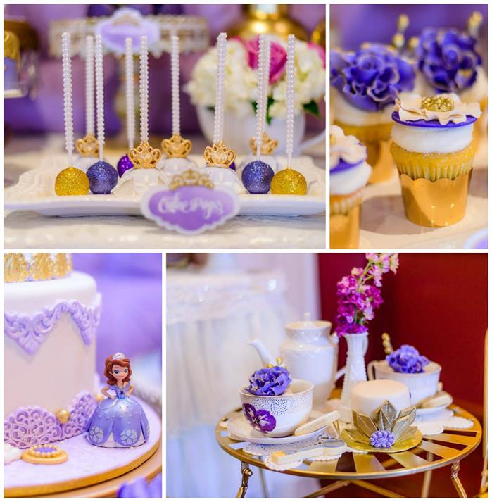 Kara S Party Ideas Royal Princess First Birthday Party: Kara's Party Ideas Royal Tea Party With So Many Darling