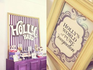 Willy Wonka Party with Such Cute Ideas via Kara's Party Ideas | KarasPartyIdeas.com #CharlieAndTheChocolateFactoryParty #PartyIdeas #Supplies (6)