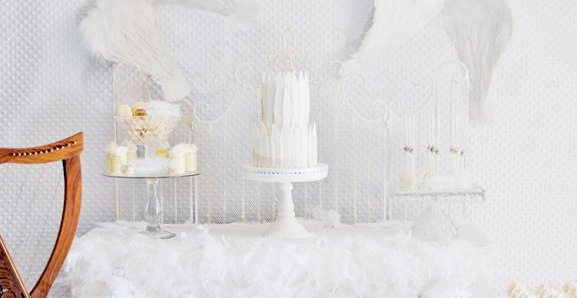 Kara S Party Ideas Christening Dessert Table Archives