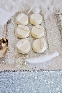 Angel Themed Baby Shower with Such Darling Ideas via Kara's Party Ideas | KarasPartyIdeas.com #Angels #Party #Ideas #Supplies (4)