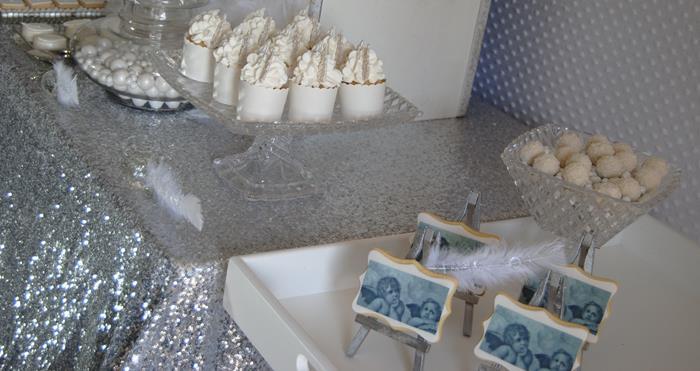 kara 39 s party ideas angel themed baby shower with really cute ideas via