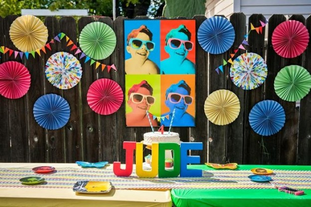 Pop Art Party with Lots of Cute Ideas via Kara's Party Ideas | KarasPartyIdeas.com #ArtParty #Party #Ideas #Supplies (54)