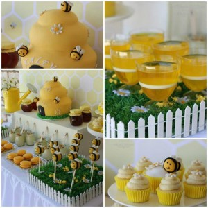 1st Bee-Day Party with Such Cute Ideas via Kara's Party Ideas | KarasPartyIdeas.com #HoneybeeParty #Party #Ideas #Supplies (1)