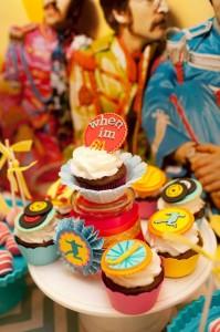 """Beetles """"When I'm 64"""" Birthday Party with So Many Really Cute Ideas via Kara's Party Ideas   KarasPartyIdeas.com #BeetlesParty #Party #Ideas #Supplies (12)"""