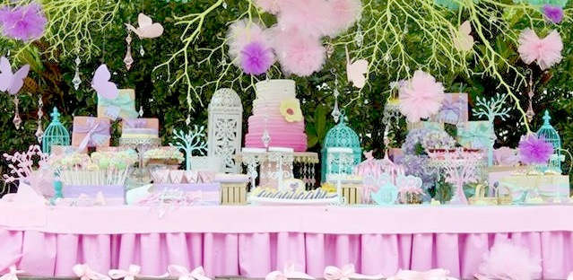 Kara S Party Ideas Pastel Butterfly Garden Party Planning