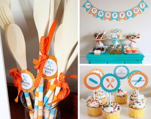 "Food Network's ""Chopped"" Inspired Tween Party with SUCH AWESOME IDEAS via Kara's Party Ideas 