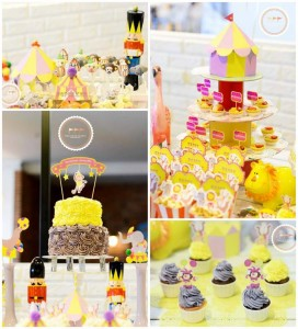 Circus Party with Lots of Awesome Ideas via Kara's Party Ideas | KarasPartyIdeas.com #Carnival #Party #Ideas #Supplies (1)