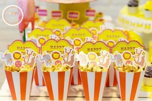 Circus Party with Lots of Awesome Ideas via Kara's Party Ideas | KarasPartyIdeas.com #Carnival #Party #Ideas #Supplies (15)