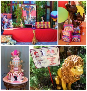 Traveling Circus Party with Lots of Fabulous Ideas via Kara's Party Ideas | KarasPartyIdeas.com #CarnivalParty #BigTopParty #PartyIdeas #Supplies (2)