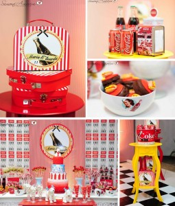 Coca Cola Party with So Many REALLY CUTE Ideas via Kara's Party Ideas | KarasPartyIdeas.com #CokeParty #DinerParty #PartyIdeas #Supplies (1)