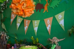 DinoDinosaur Themed 2nd Birthday Party with Lots of Cute Ideas via Kara's Party Ideas | KarasPartyIdeas.com #Dino #Party #Ideas #Supplies (9)