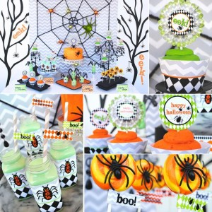 Eek-O-Ween Party with FREE PRINTABLES and Such Cute Ideas via Kara's Party Ideas | KarasPartyIdeas.com #HalloweenParty #HalloweenPrintables #Party #Ideas #Supplies (11)