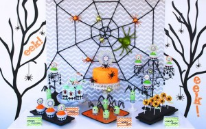 Eek-O-Ween Party with FREE PRINTABLES and Such Cute Ideas via Kara's Party Ideas | KarasPartyIdeas.com #HalloweenParty #HalloweenPrintables #Party #Ideas #Supplies (10)