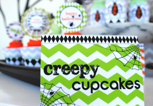 Eek-O-Ween Party with FREE PRINTABLES and Such Cute Ideas via Kara's Party Ideas | KarasPartyIdeas.com #HalloweenParty #HalloweenPrintables #Party #Ideas #Supplies (8)