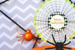 Eek-O-Ween Party with FREE PRINTABLES and Such Cute Ideas via Kara's Party Ideas | KarasPartyIdeas.com #HalloweenParty #HalloweenPrintables #Party #Ideas #Supplies (7)