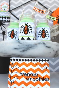 Eek-O-Ween Party with FREE PRINTABLES and Such Cute Ideas via Kara's Party Ideas | KarasPartyIdeas.com #HalloweenParty #HalloweenPrintables #Party #Ideas #Supplies (6)