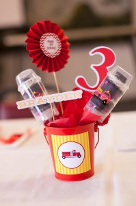 Fire Truck Themed Birthday Party with Lots of Really Cute Ideas via Kara's Party Ideas | KarasPartyIdeas.com #FiremanParty #FiretruckParty #PartyIdeas #Supplies (36)