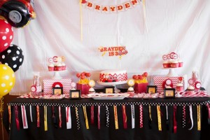 Fire Truck Themed Birthday Party with Lots of Really Cute Ideas via Kara's Party Ideas | KarasPartyIdeas.com #FiremanParty #FiretruckParty #PartyIdeas #Supplies (13)