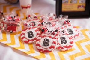 Fire Truck Themed Birthday Party with Lots of Really Cute Ideas via Kara's Party Ideas | KarasPartyIdeas.com #FiremanParty #FiretruckParty #PartyIdeas #Supplies (12)