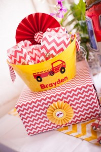 Fire Truck Themed Birthday Party with Lots of Really Cute Ideas via Kara's Party Ideas | KarasPartyIdeas.com #FiremanParty #FiretruckParty #PartyIdeas #Supplies (10)