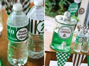 Football Themed 7th Birthday Party with Lots of Cute Ideas via Kara's Party Ideas | KarasPartyIdeas.com #SportsParty #SuperbowlParty #PartyIdeas #Supplies (11)