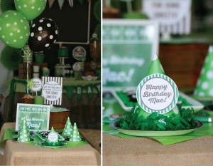 Football Themed 7th Birthday Party with Lots of Cute Ideas via Kara's Party Ideas | KarasPartyIdeas.com #SportsParty #SuperbowlParty #PartyIdeas #Supplies (5)