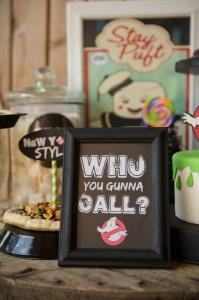 Ghostbusters Halloween Party with Awesome Ideas via Kara's Party Ideas | KarasPartyIdeas.com #HalloweenParty #Party #Ideas #Supplies (9)