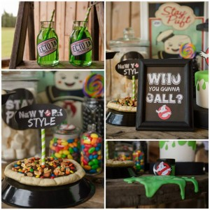 Ghostbusters Halloween Party with Awesome Ideas via Kara's Party Ideas | KarasPartyIdeas.com #HalloweenParty #Party #Ideas #Supplies (1)
