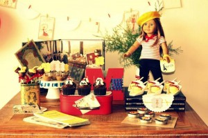 American Girl Doll in Paris Party with Lots of Really Fun Ideas via Kara's Party Ideas | KarasPartyIdeas.com #AmericanGirl #French #Party #Ideas #Supplies (12)