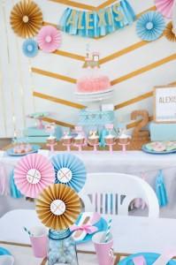 Glam Vintage Train Party with Such Cute Ideas via Kara's Party Ideas | KarasPartyIdeas.com #GirlyTrainParty #PartyIdeas #Supplies (11)
