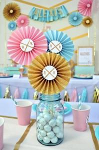 Glam Vintage Train Party with Such Cute Ideas via Kara's Party Ideas | KarasPartyIdeas.com #GirlyTrainParty #PartyIdeas #Supplies (4)