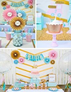 Glam Vintage Train Party with Such Cute Ideas via Kara's Party Ideas   KarasPartyIdeas.com #GirlyTrainParty #PartyIdeas #Supplies (1)