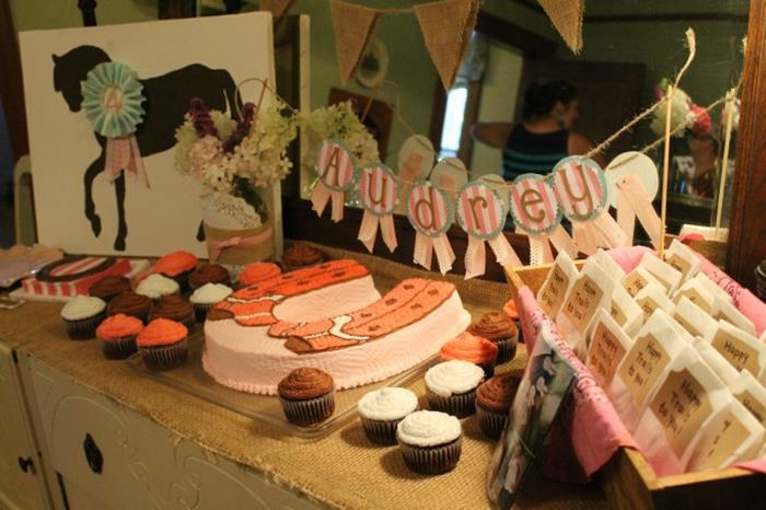 Horse Themed 4th Birthday Party With Such Cute Ideas Via Karas